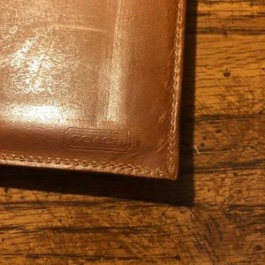 Coach Bags - Vintage Coach Wallet + Checkbook Holder